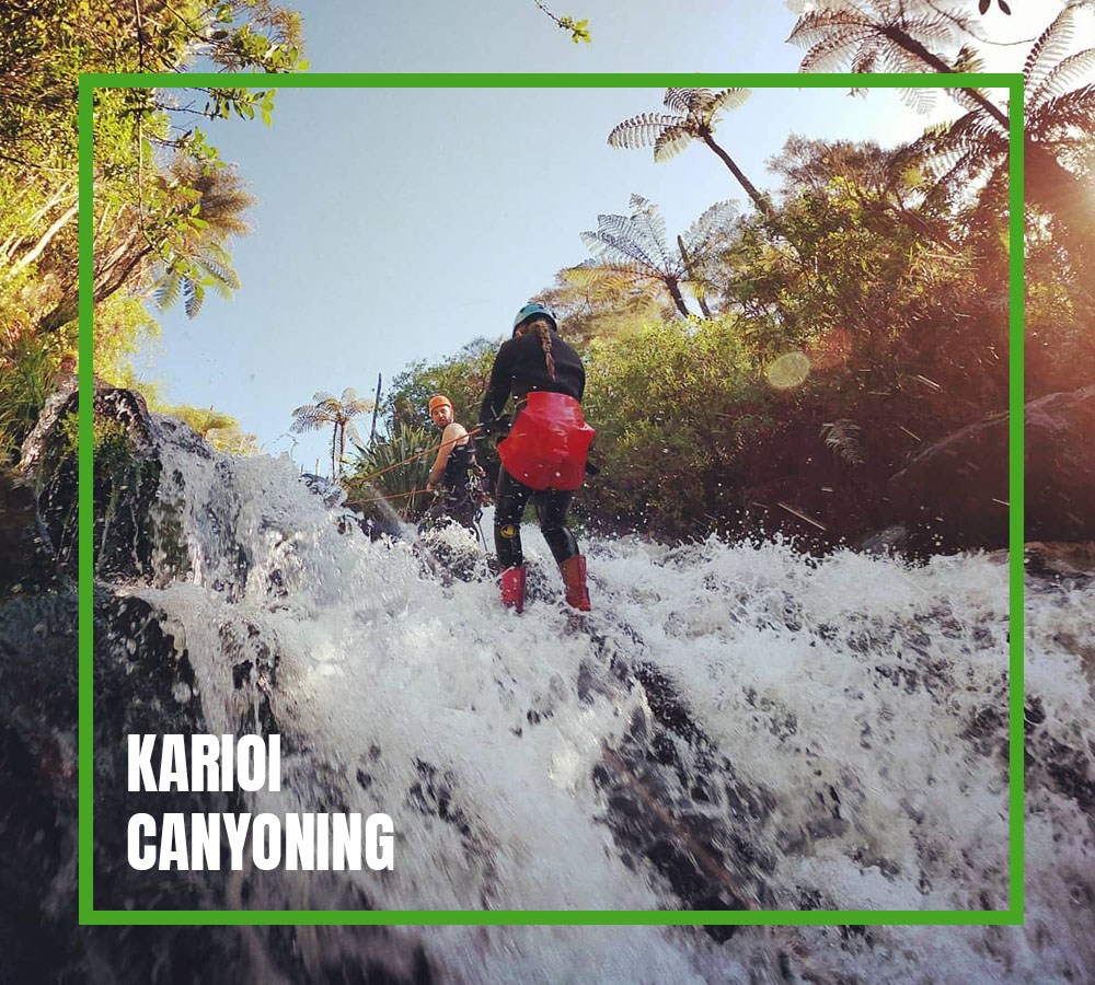 KARIOI CANYONING CARD
