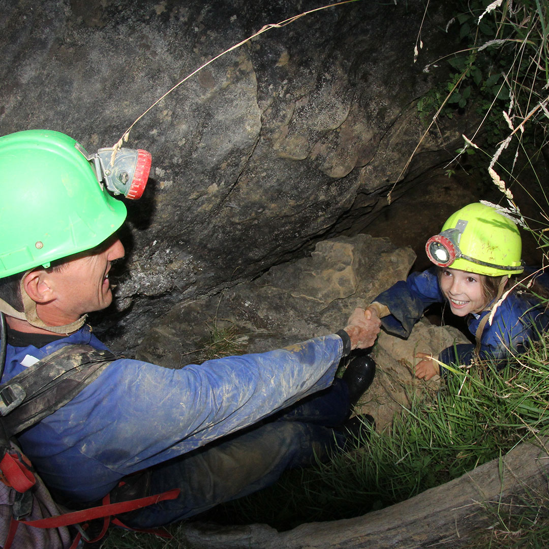 caving family pic3