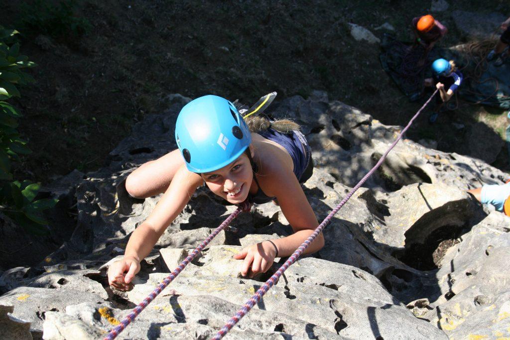 Real Rock Climbing with Raglan Rock