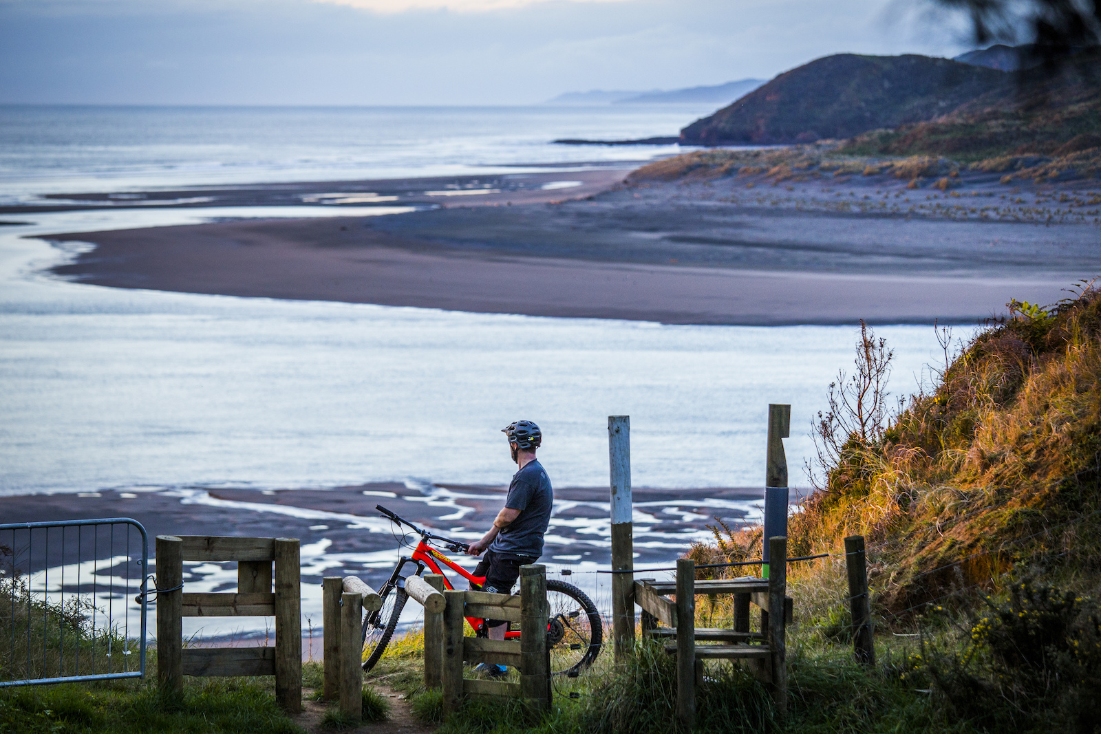 View from Raglan Trails
