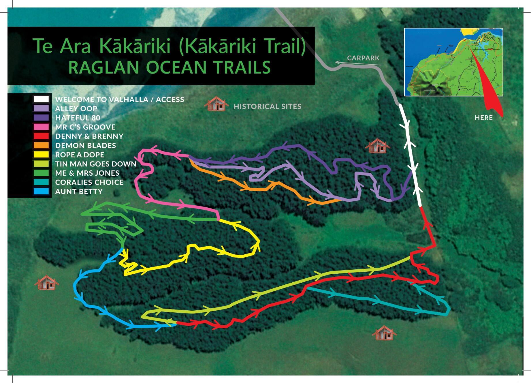 Raglan MTB Trails